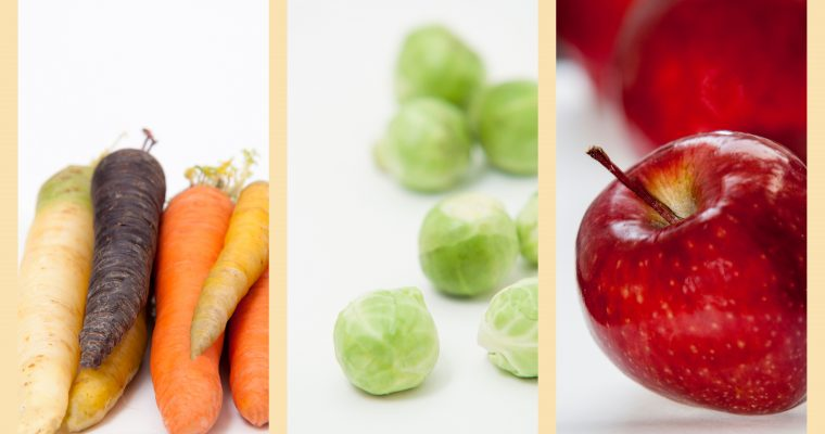 Seizoensgroenten & fruit van Januari