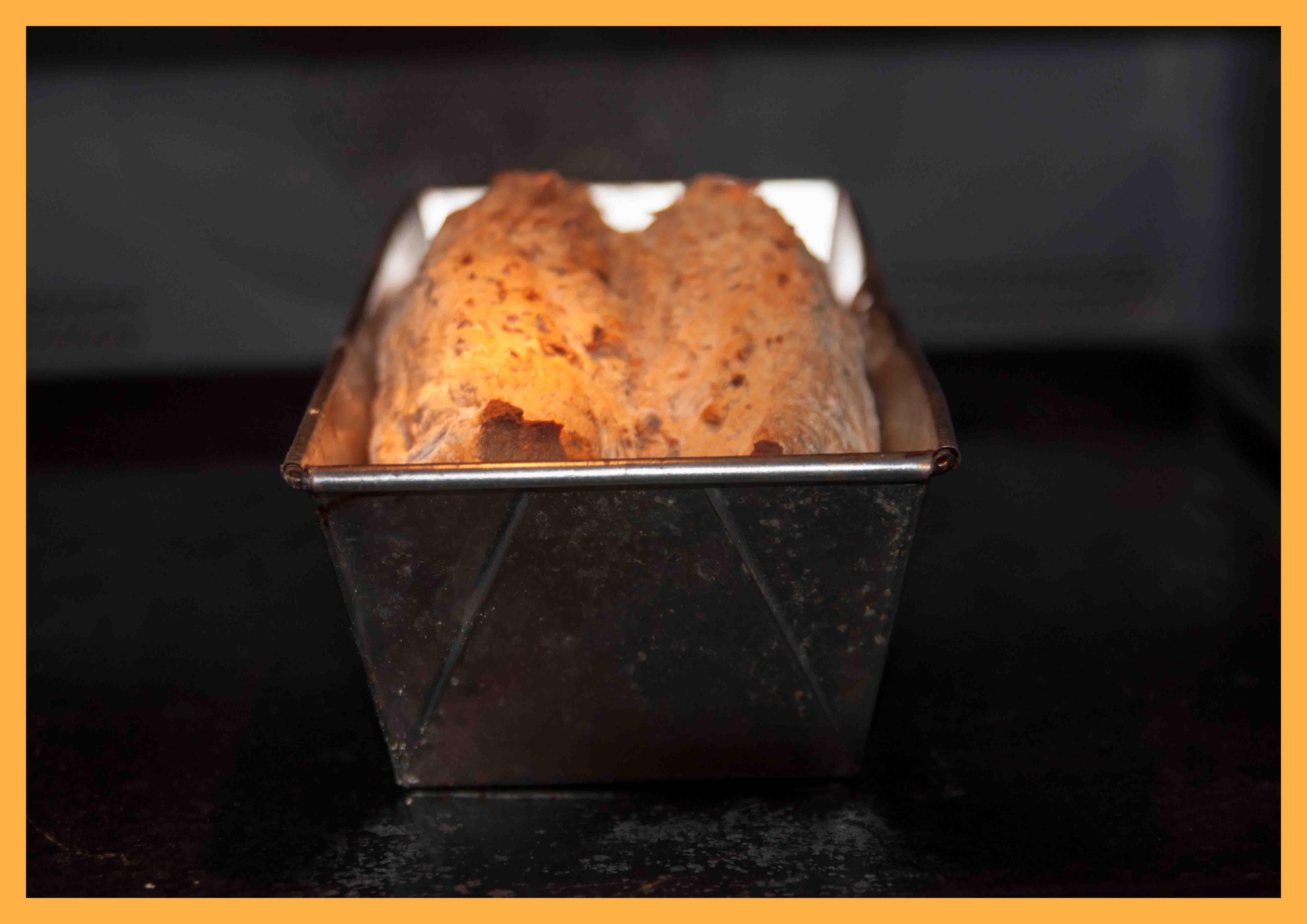 Brood in de oven