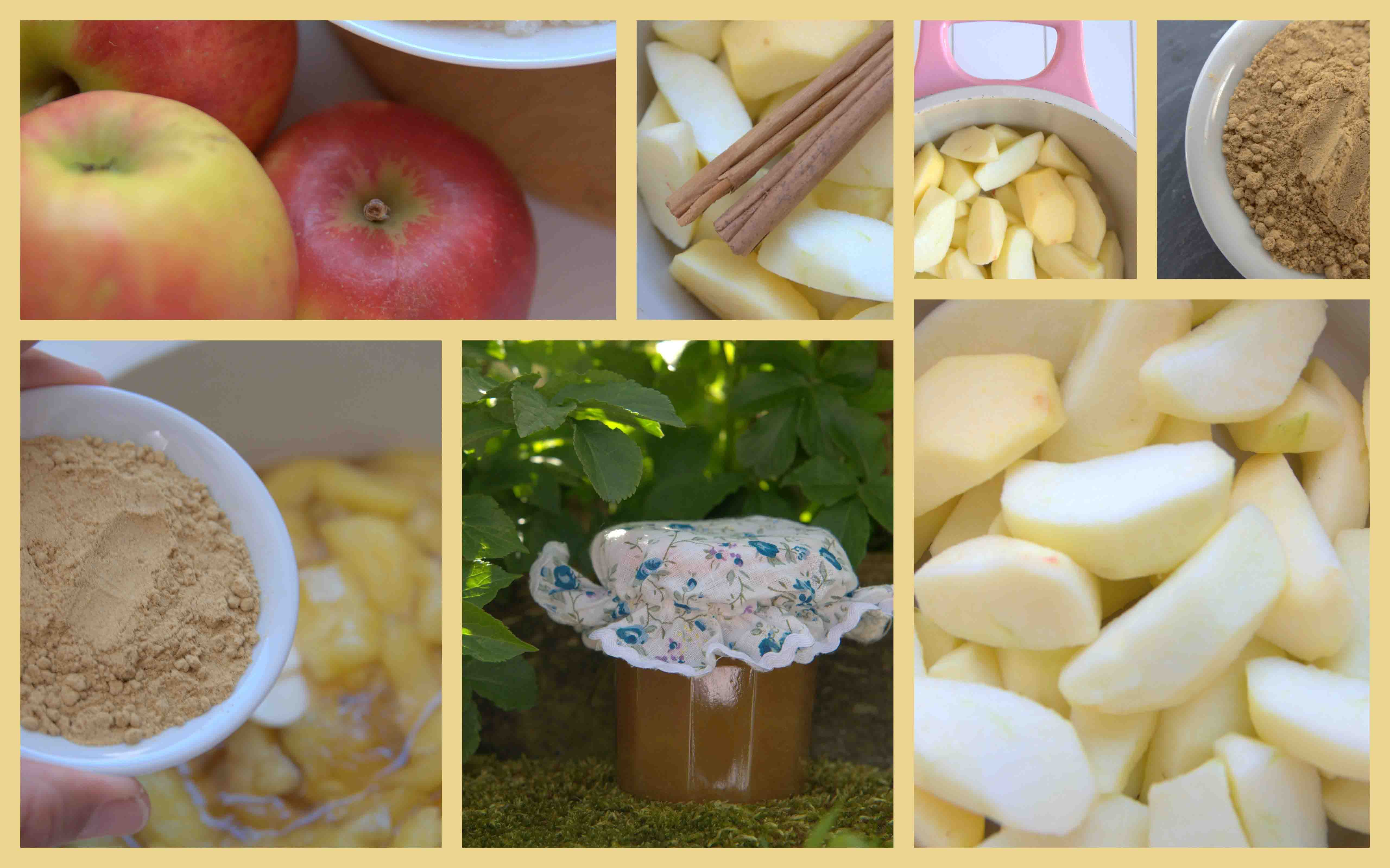 Tasty appeljam met gember en kaneel