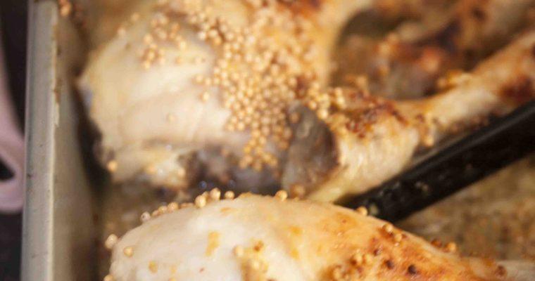 Homemade Mosterd kip
