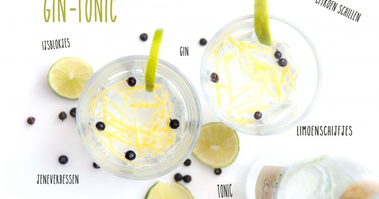 Maak je eigen Gin-tonic