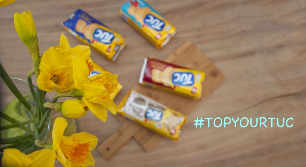 TOP YOUR TUC, challengeTOP YOUR TUC challenge, #TOPYOURTUC , TUC, Koekje, Bloginsider, food, Topping, Lauras Bakery