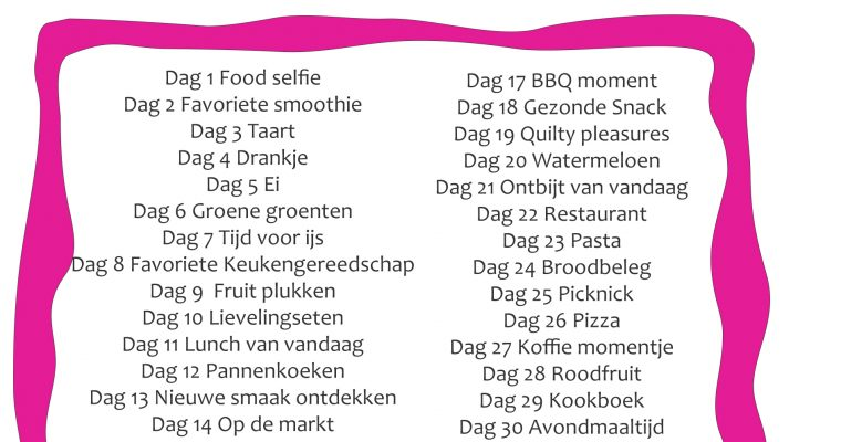 Food photo Challenge