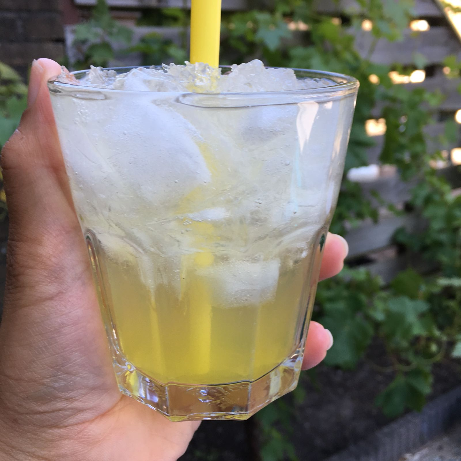 Limoncello-citroen slush puppy