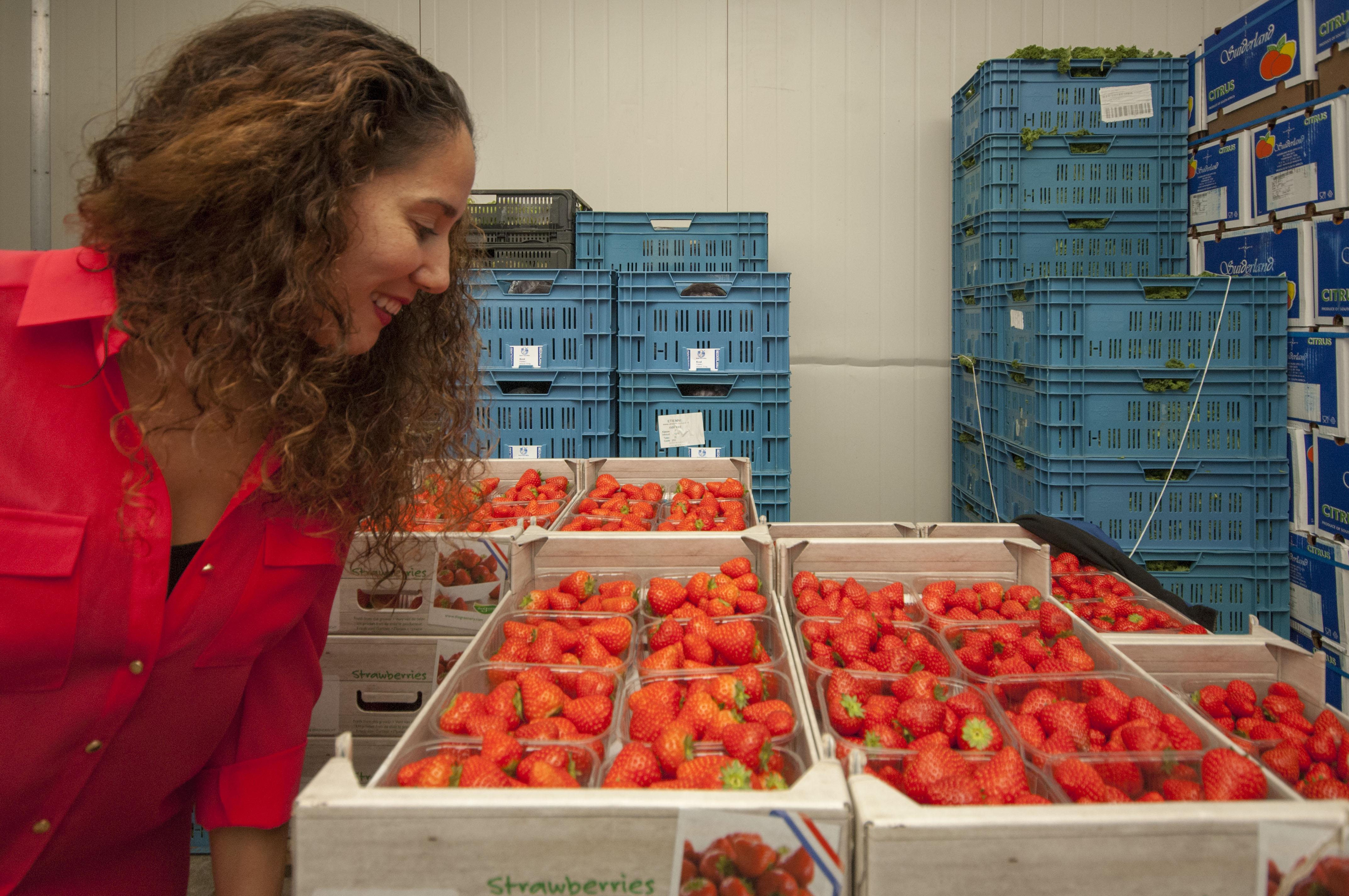 Vers fruit & groenten van de markt