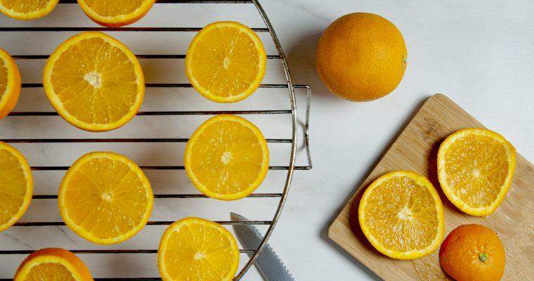 DIY: sinaasappels drogen